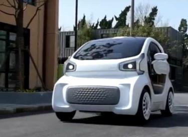 3d print elektrische auto