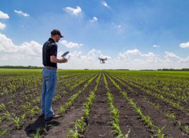 Adobe Stock drone boer landbouw innovatie