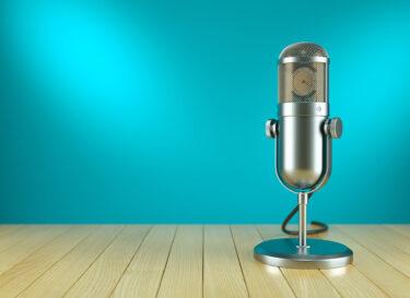 Adobe Stock podcast microfoon 1