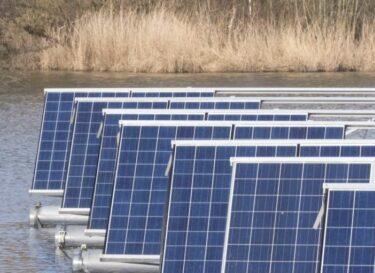 Adobestock drijvende zonnepanelen