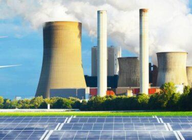 Adobestock energie zonnepanelen kolencentrale