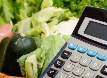 Adobestock rekenmachine voedsel