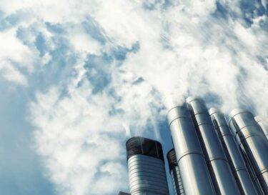 Adobestock staalindustrie gas schoorsteen