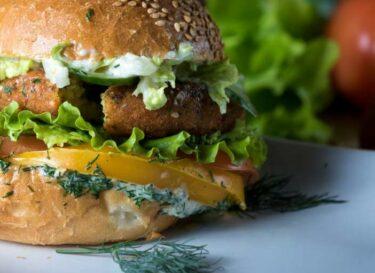 Adobestock vegetarische burger