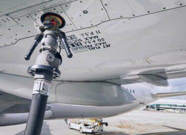 Adobestock vliegtuig bijtanken kerosine