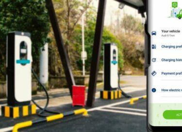 App opladen elektrisch rijden tankstation