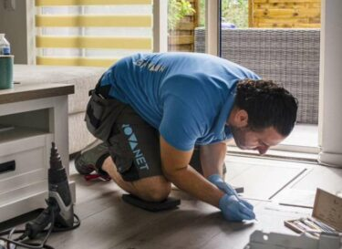 Asr schade herstel vloer vervanging klimaatimpact