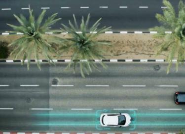 Auto opladen snelweg automatisch elektreon