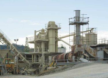 Cement cementfabriek