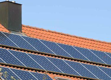 Dak met zonnepanelen hypotheek