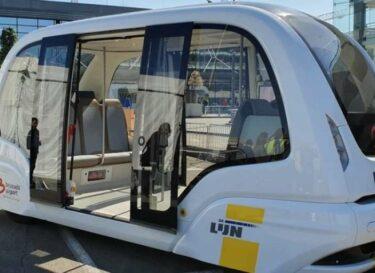 Delijn shuttlebus brussel