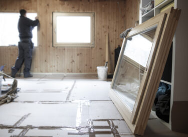 Duurzaam huis ruiten hout adobe stock change inc