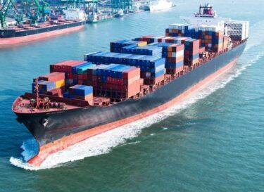 Duurzame scheepvaart schip