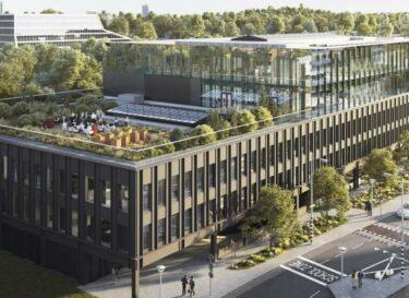 Edge amsterdam exterior duurzaam door digitalisering