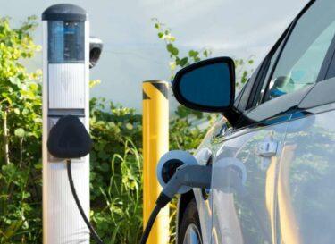 Elektrisch elektrische auto elektrisch rijden ev