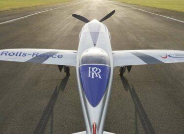 Elektrisch vliegtuig rolls royce