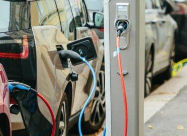 Elektrische auto evs hybride plug in