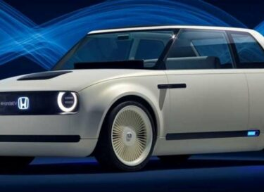 Elektrische auto honda