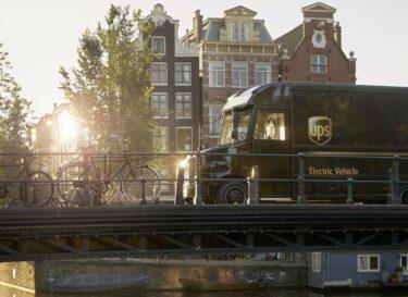 Elektrische autos ups in amsterdam 3