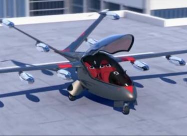 Elektrische vliegende taxi