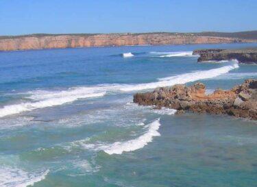 Eyre schiereiland kust zee australie