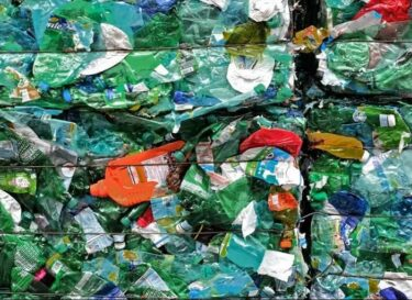 Gerecycled plastic