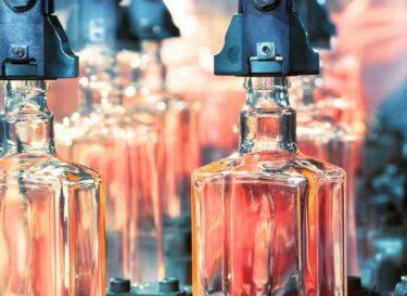 Glazen verpakkingsmateriaal glasindustrie