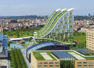 Groene stad brussel