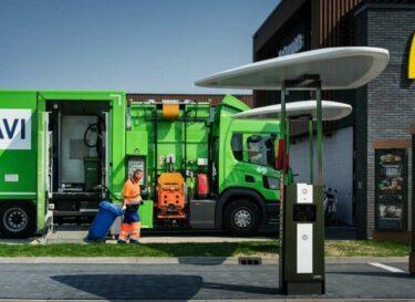 Havi recycling truck netherlands 04