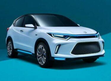 Honda elektrische auto