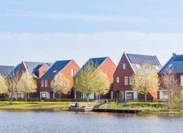 Huizen nederland adobe stock