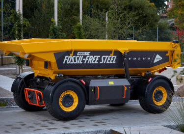 Image volvo group ssab world first fossil free vehicle
