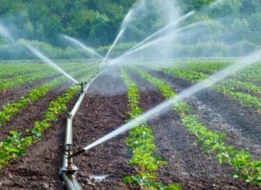 Irrigatie landbouw