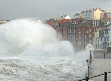 Klimaatverandering storm water