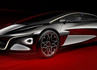 Lagonda elektrische auto