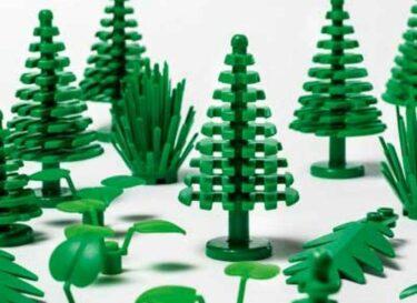 Lego duurzaam plantaardig