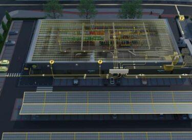 Lidl energiezuinige supermarkt