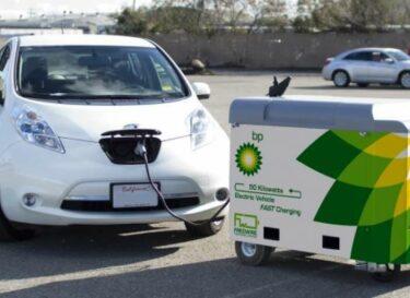 Mobiele laadpunten elektrische auto