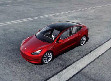 Model 3 tesla elektrisch