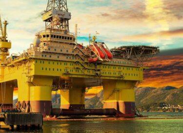 Noorwegen olie zon