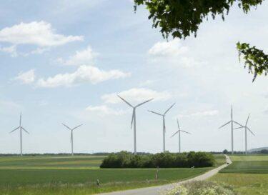 Onshore windpark titz de