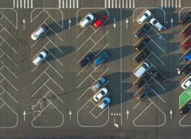 Parkeerplaats auto elektrisch