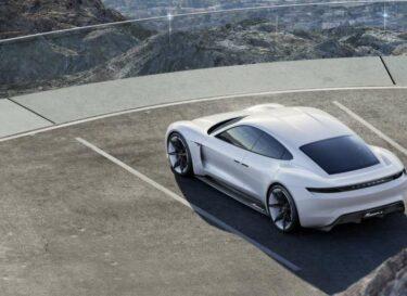 Porsche elektrische auto