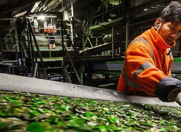 Renewi sustainability report glass recycling