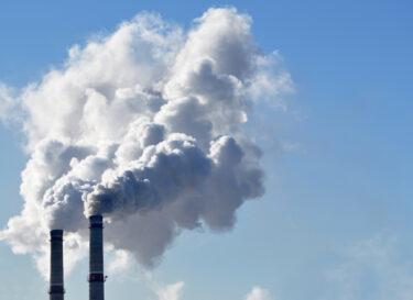 Rook schoorsteen emissie co2 change inc adobe stock