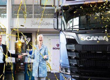 Scania zonnedak
