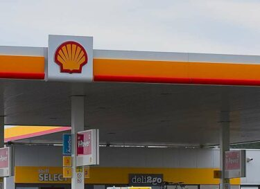 Shell benzinepomp