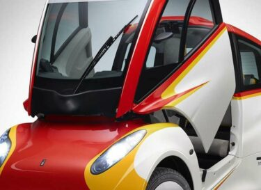 Shell concept car side angled door up 5mb