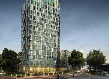 Smart green tower frey architekten