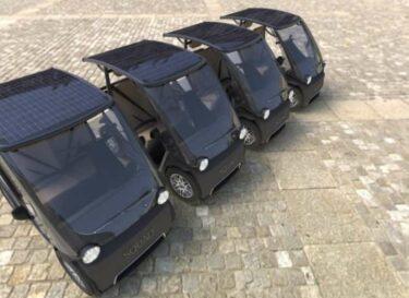 Solar city car